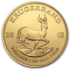 Krügerrand Goldmünze — Krugerrand Goldmuenze