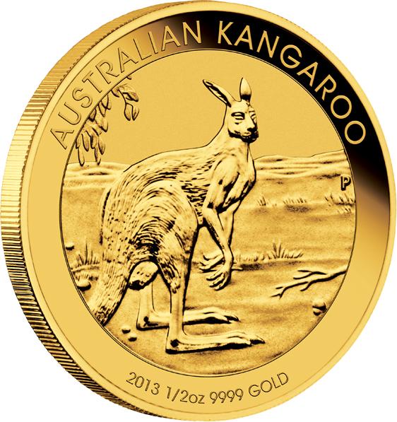 Goldmünzen auch in 2013 kurz über dem Goldpreis steuerfrei