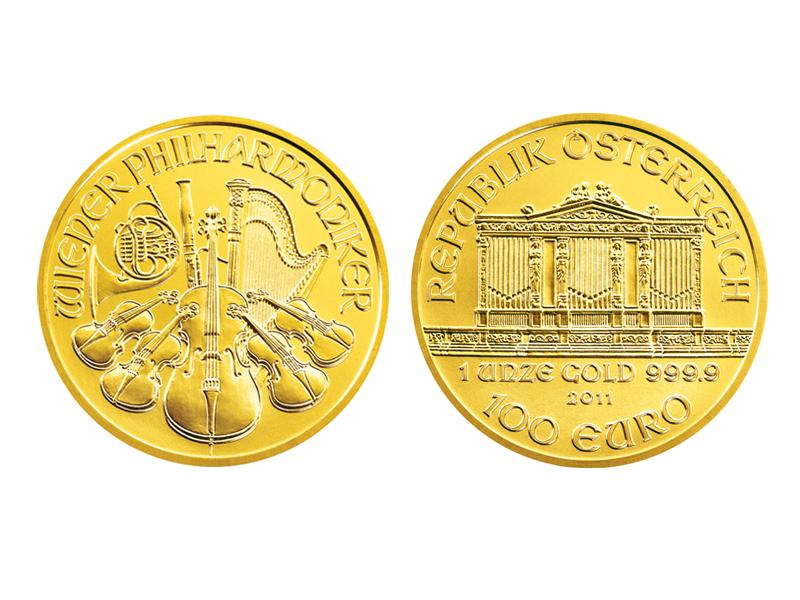 Goldmünzen Philharmoniker