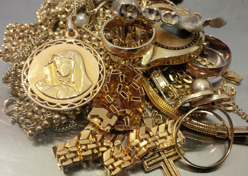 Starke indische Goldnachfrage wegen Schmuck