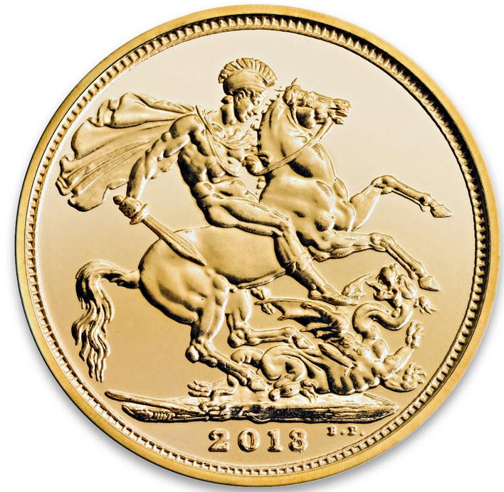Sovereign Goldmünze 2013 aus UK statt ETF