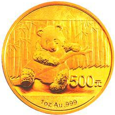 Goldmünze Panda 2014 1oz