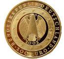 Währungsunion Goldmünze 2002