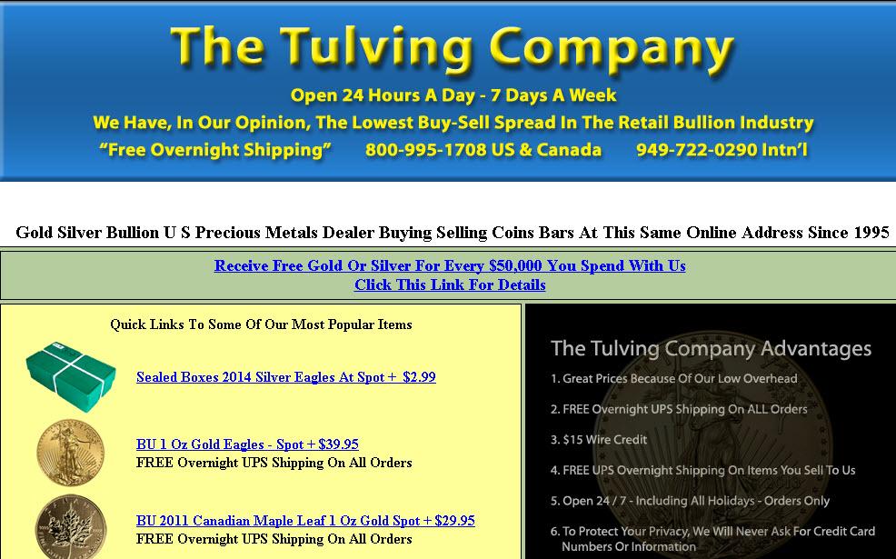 Edelmetallhändler Tulving pleite
