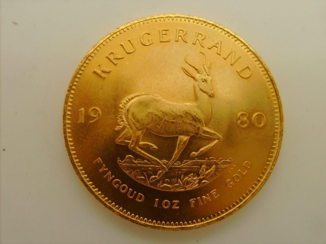 Ältere Krügerrand Goldmünzen kommen kaum noch auf den Markt