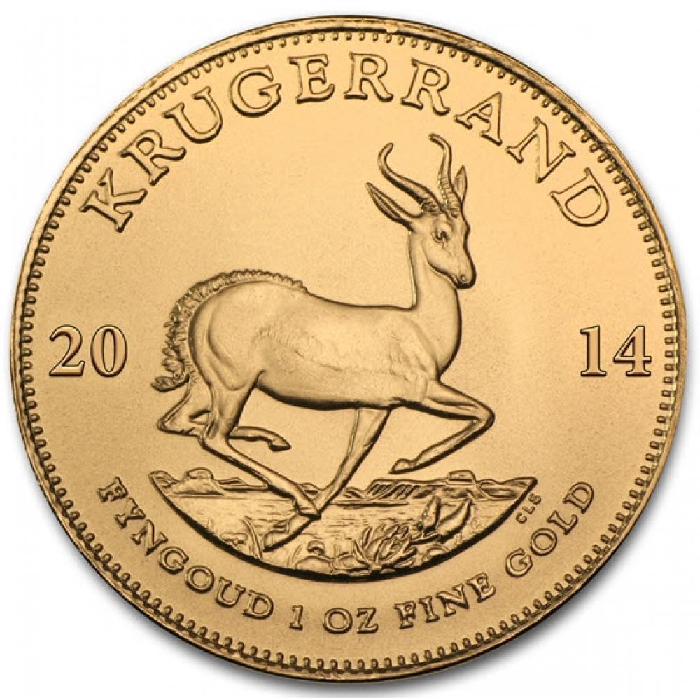 Krügerrand Goldmünzen der Umsatzrenner