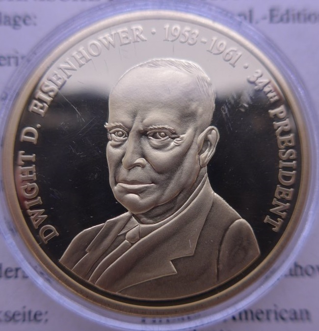 Goldverbot wurde Präsident Eisenhower nochmal verschärft
