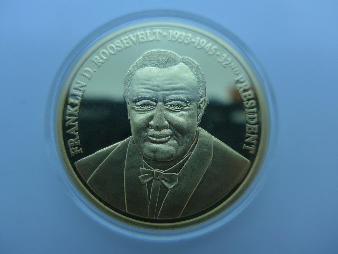 US Präsident Roosevelt erließ das Goldverbot in den USA
