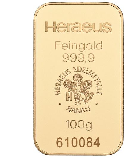 100g Goldbarren kaufen