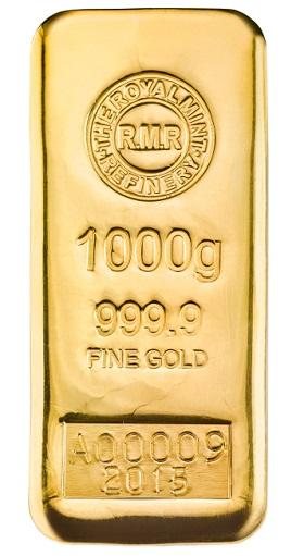 Royal Mint Goldbarren 1kg