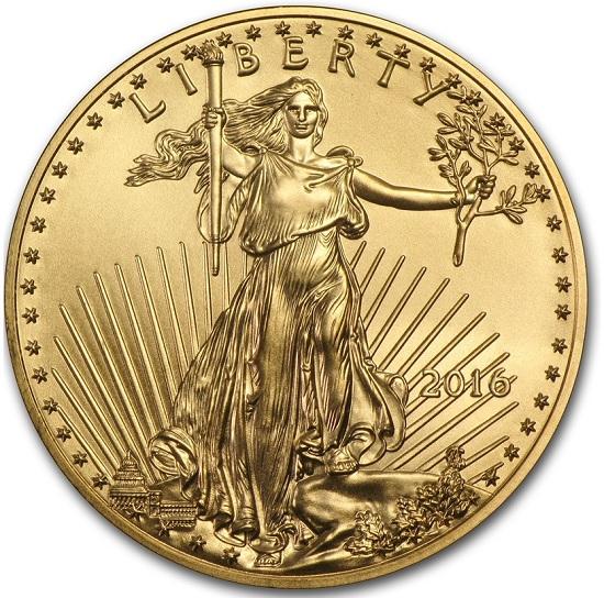 Gold Eagle USA 2016 oz