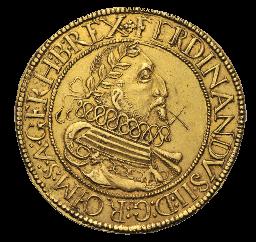 Goldmünze Ferdinand II. (1619-1637) 10 Dukaten